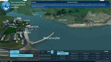Sea Level Rise Management Module