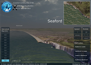 Sea Level Rise Interactive Visualisation